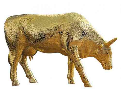 Mira Moo Gold - Cowparade Kuh Large