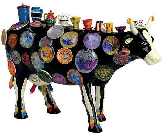 The Moo Potter - Cowparade Kuh Extra Large