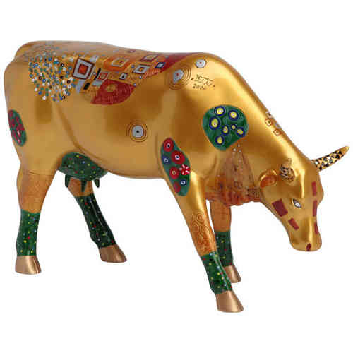 Klimt Cow - Cowparade Kuh Large
