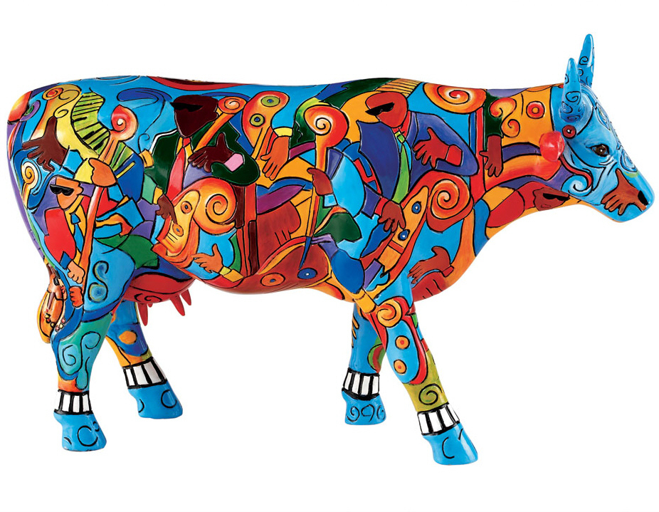 Musicow Extravaganza - Cowparade Kuh Large 46706