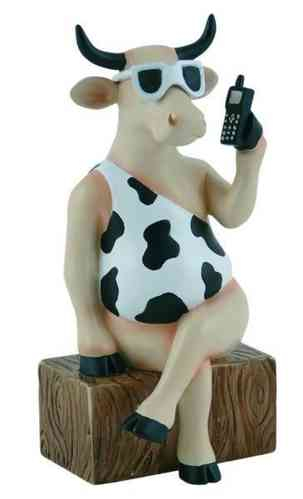 Call Me Now - Cowparade Kuh Medium
