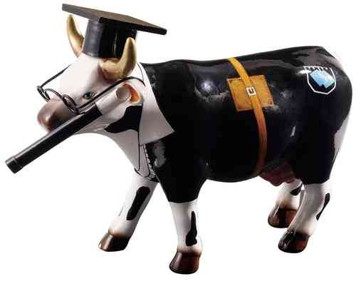 Cow Doutora - Cowparade Medium