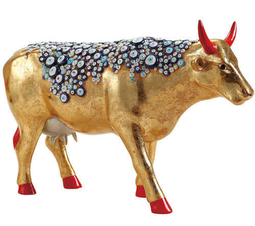 The Evil Eye Cow - Cowparade Kuh Large
