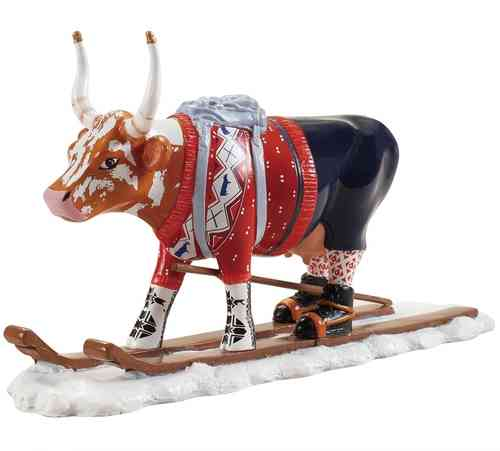 Ski Cow - Cowparade Medium