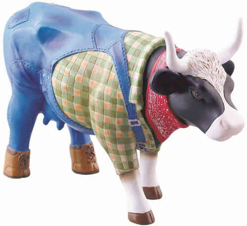 Farmer Cow - Cowparade Kuh Medium
