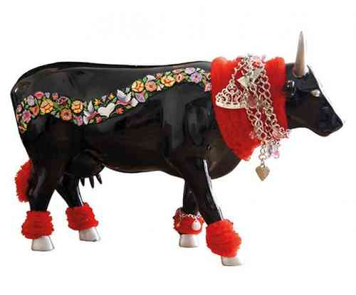 H@ute Cowture - Cowparade Kuh Large