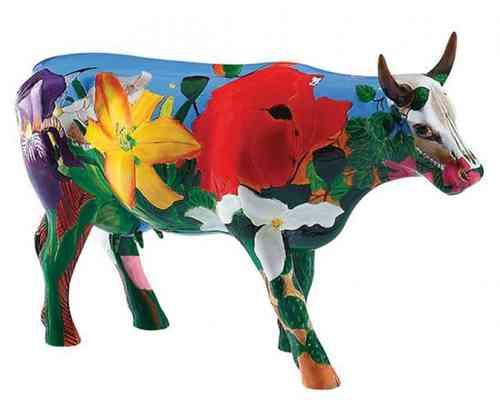 Georgia O' Kowlife - Cowparade Kuh Large