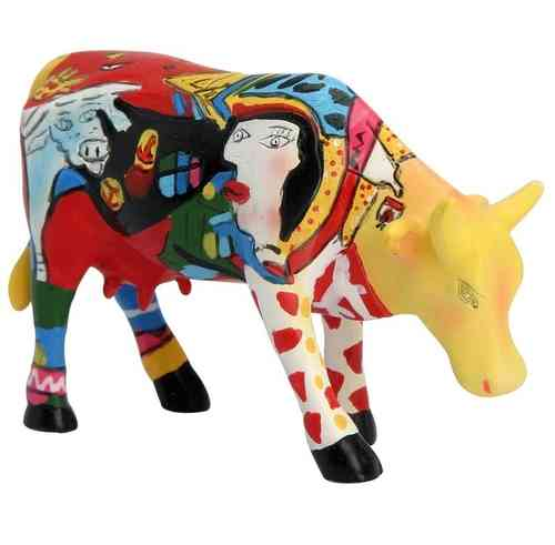 Picowso´s African Period - Cowparade Kuh Small