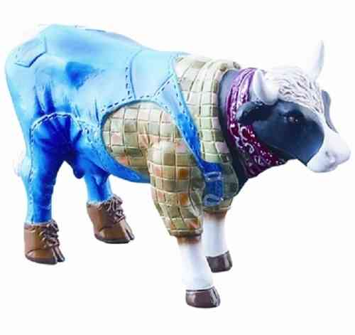 Farmer Cow - Cowparade Kuh Small