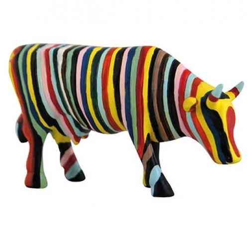 Striped - Cowparade Kuh Small