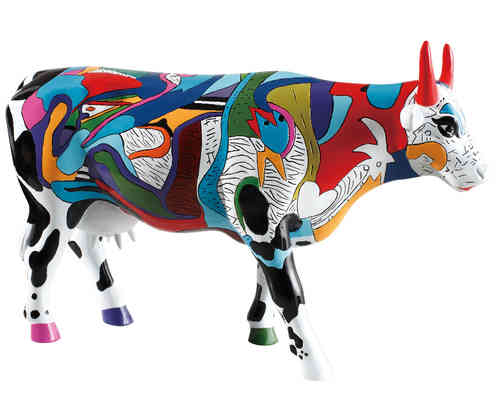 Ziv's Udderly Cool Cow - Cowparade  Kuh Large