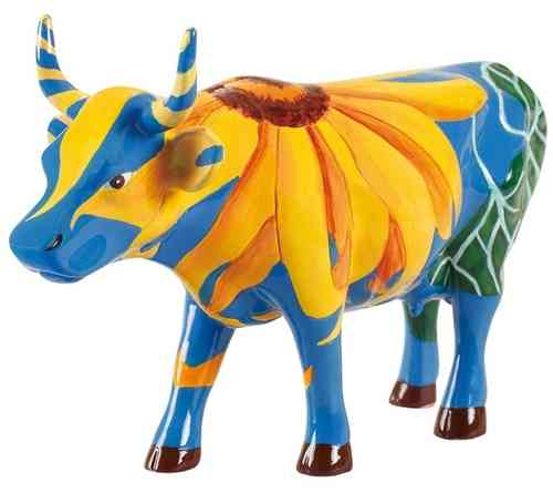 Udderly Sunflowers - Cowparade Kuh Medium