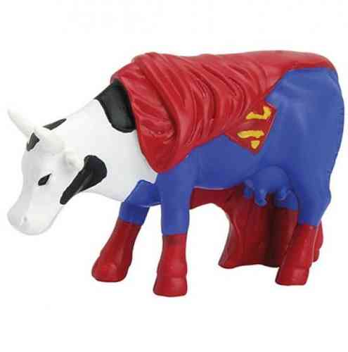 Super Cow - Cowparade Kuh Small