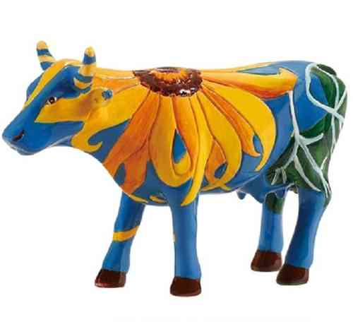 Udderly Sun Flowers - Cowparade Kuh Small