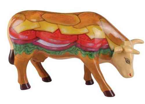 Moovin Veggie Burger - Cowparade Kuh Medium