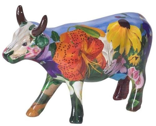 Georgia O'Kowlife - Cowparade Kuh Medium