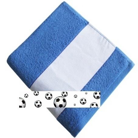 framsohn Handtuch 'Fußball' 50 x 100 cm Blau 27872255