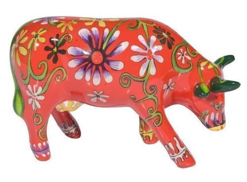 Flower Lover Cow - Cowparade Kuh Medium