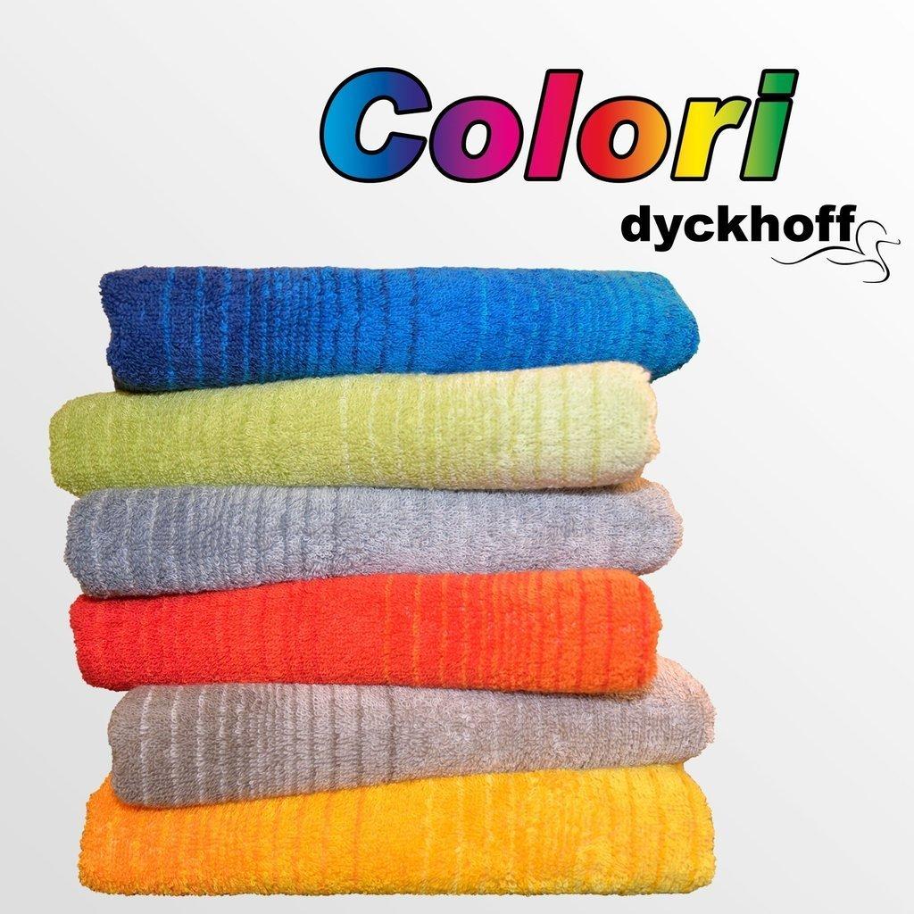 Dyckhoff Frottierserie Colori Verlauf Handtuch Duschtuch Liegetuch in 6 Farben