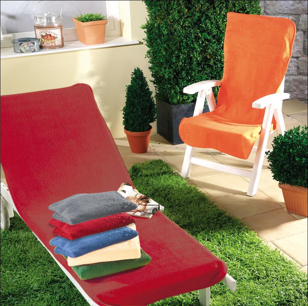 Dyckhoff Gartenstuhlschonbezug bordeaux - rot 60 x 130 cm 0320049500