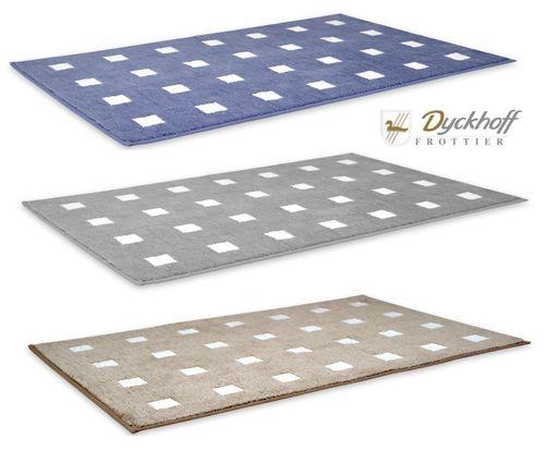Dyckhoff Badteppich /'/'Karo/'/' Mikrofaser 60 x 90 cm 09297