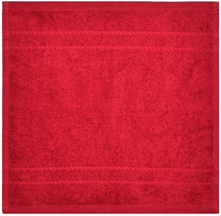 """Dyckhoff Seiftuch """"Kristall"""" Rot 30 x 30 cm 0610311500"""