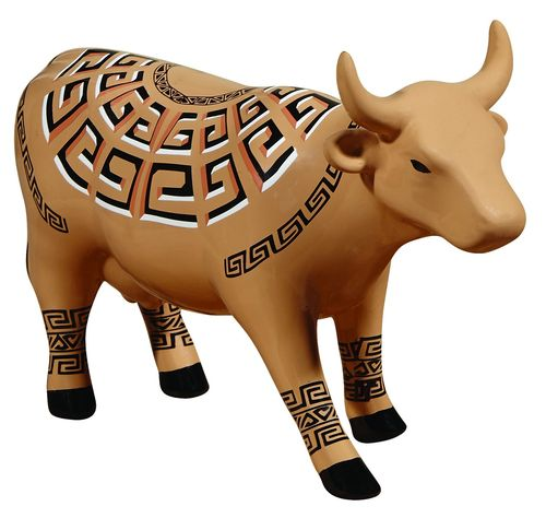 Cow Marajoara - Cowparade Kuh Medium
