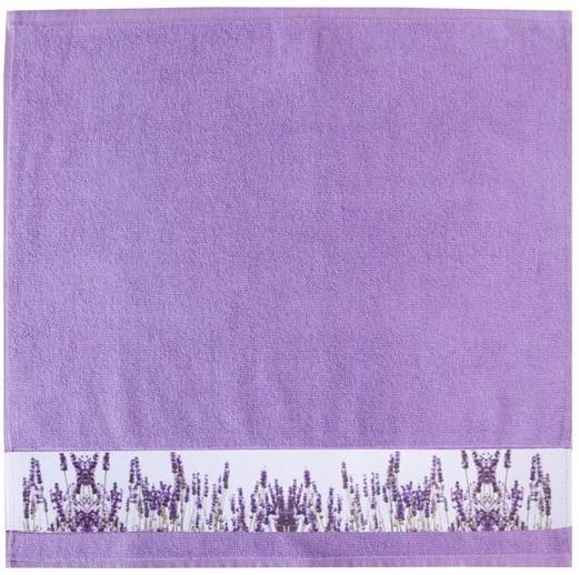 "framsohn Geschirrtuch Zwirn ""Lavendelfeld"" 50 x 50 cm Lavendel - Lila 27188604"