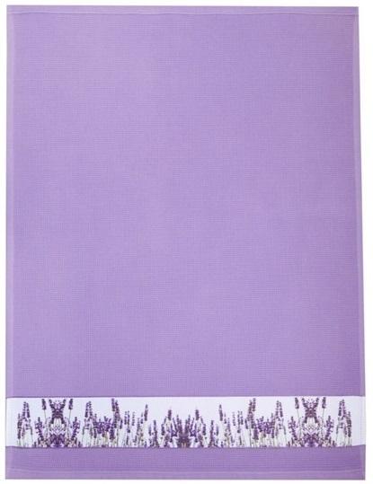 "framsohn Geschirrtuch Waffel ""Lavendelfeld"" 50 x 70 cm Lavendel 27189604"