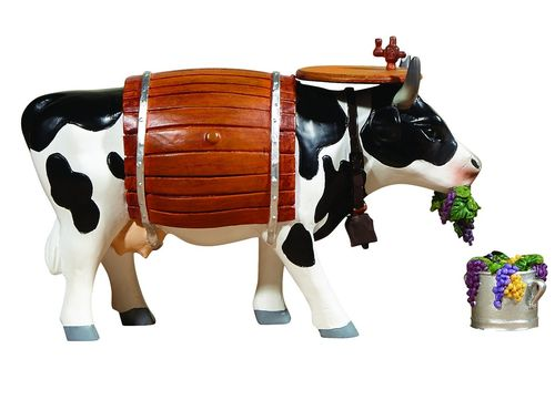 Clarabelle the Wine Cow  - Cowparade Kuh Medium