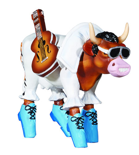 Rock'n Roll- Cowparade Kuh Medium