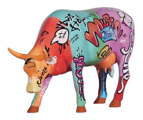 Vaquinha do Hip Hop - Cowparade Kuh Large
